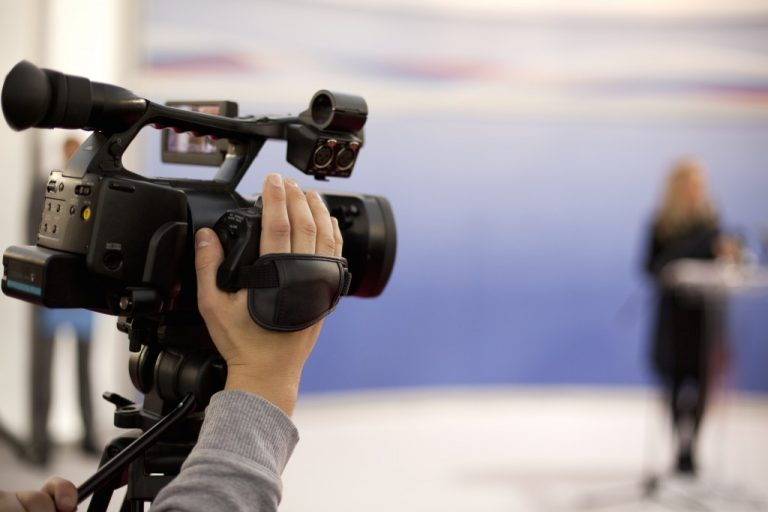 shooting a scene