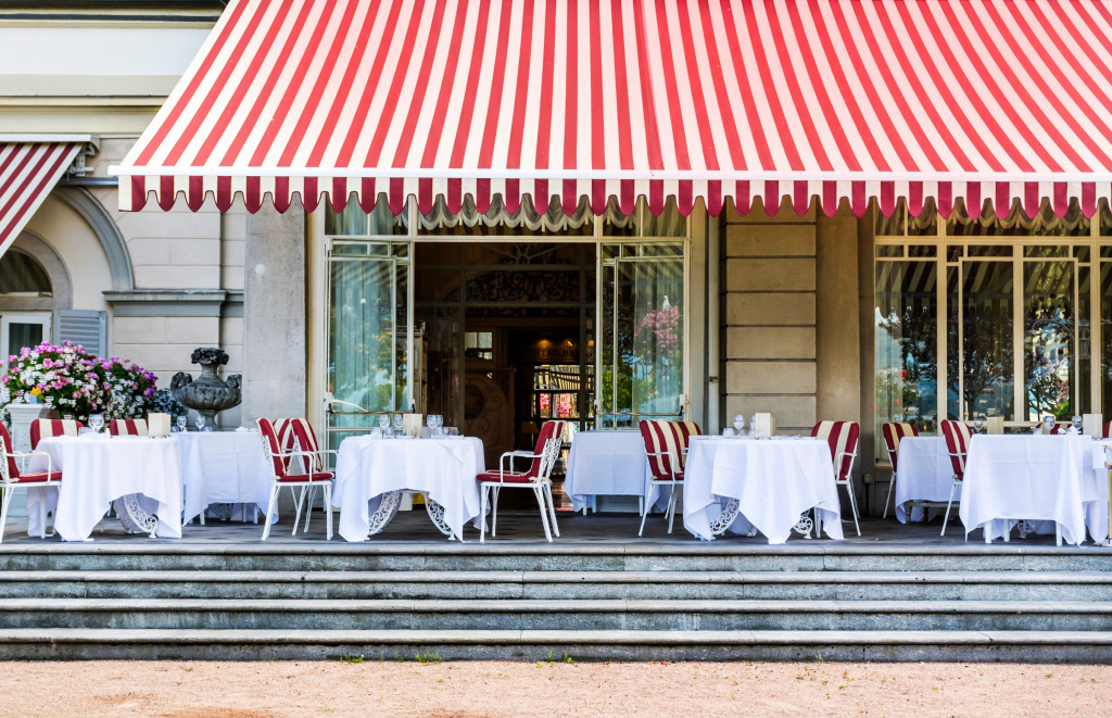 French-themed restaurant